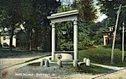 Wells Fountain - Brattleboro, Vermont VT Postcard