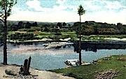 Dam Site - Brattleboro, Vermont VT Postcard