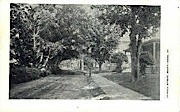 Terrace Street - Brattleboro, Vermont VT Postcard