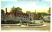Plaza - Brattleboro, Vermont VT Postcard