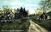 Old Homestead - Brattleboro, Vermont VT Postcard