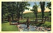 The Bridge - Brattleboro, Vermont VT Postcard