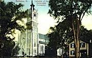 Cathedral  - Burlington, Vermont VT Postcard