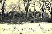 University Place - Burlington, Vermont VT Postcard