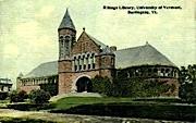 University of Vermont - Burlington Postcard
