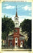 Unitarian Church - Burlington, Vermont VT Postcard