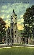 Immaculate Conception - Burlington, Vermont VT Postcard