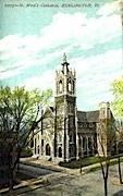St. Mary's Cathedral - Burlington, Vermont VT Postcard
