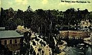 The Gorge - Burlington, Vermont VT Postcard