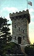 Ethan Allen Tower - Burlington, Vermont VT Postcard