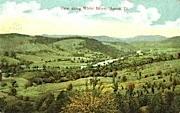White River - Burlington, Vermont VT Postcard