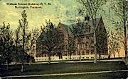 William Science Building - Burlington, Vermont VT Postcard