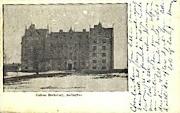College Dormitory - Burlington, Vermont VT Postcard