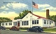 Veterans' Club - Burlington, Vermont VT Postcard