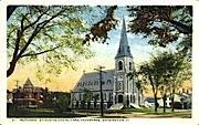 Methodist Episcopal Church - Burlington, Vermont VT Postcard