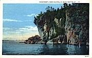 Rock Point - Burlington, Vermont VT Postcard