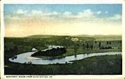 Winooski River - Burlington, Vermont VT Postcard