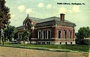 Public Library - Burlington, Vermont VT Postcard