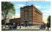 Hotel Vermont - Burlington Postcard