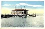 Yacht Club - Burlington, Vermont VT Postcard