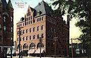Masonic Temple - Burlington, Vermont VT Postcard