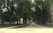 Winooski Avenue - Burlington, Vermont VT Postcard