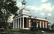 First Congregational Church - Burlington, Vermont VT Postcard