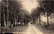 Road - Brattleboro, Vermont VT Postcard