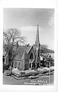All Souls Universalist Unitarian - Brattleboro, Vermont VT Postcard