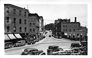 Main Street - Brattleboro, Vermont VT Postcard