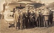 Group of Men - Brattleboro, Vermont VT Postcard