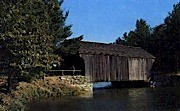 Covered Bridge - Dummerston, Vermont VT Postcard