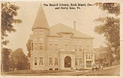 Haskell Library - Derby Line, Vermont VT Postcard