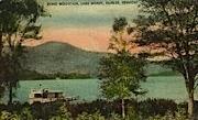 Echo Mountain - Fairlee, Vermont VT Postcard