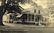 The Powell Home - Jeffersonville, Vermont VT Postcard
