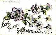 Love - Jeffersonville, Vermont VT Postcard