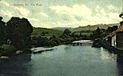 The Pond - Londonderry, Vermont VT Postcard