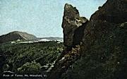 Rock of Terror - Mount Mansfield, Vermont VT Postcard