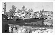 Bridge - Londonderry, Vermont VT Postcard