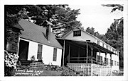Lowell Lake Lodge - Londonderry, Vermont VT Postcard
