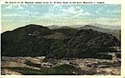 Mount Mansfield, Vermont, VT Postcard