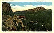 The Nose and Chin - Mount Mansfield, Vermont VT Postcard