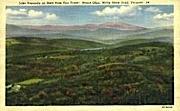 Lake Raponda - Molly Stark Trail, Vermont VT Postcard