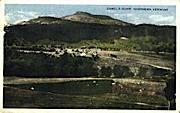 Camel's Hump - Mount Mansfield, Vermont VT Postcard