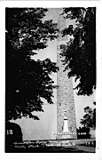 Bennington Battle Monument - Molly Stark Trail, Vermont VT Postcard