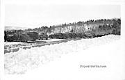 Summit Hogback Mountain - Molly Stark Trail, Vermont VT Postcard