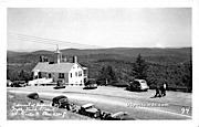 Summit of Hogback Mountain - Molly Stark Trail, Vermont VT Postcard