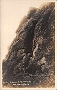 Cave of the Winds - Mount Mansfield, Vermont VT Postcard