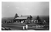 Hogback Mountain Gift Shop - Molly Stark Trail, Vermont VT Postcard