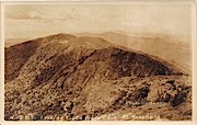 Looking South - Mount Mansfield, Vermont VT Postcard